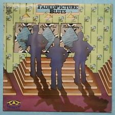 RALPH WILLIS, COUNTRY PAUL, ROBERT HENRY~FADED PICTURE BLUES~1972 UK 16-TRACK LP