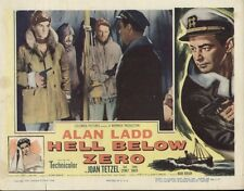 Hell Below Zero 11x14 Lobby Card #nn