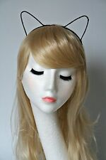 Cat Ears Black Sexy Headband costume Cat Woman Ariana Grande Cat Ears