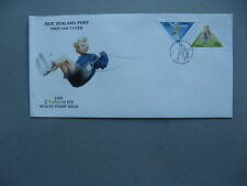 NEW ZEALAND, cover FDC 1995, scateboard bicycle