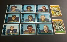 1972 TOPPS CHICAGO BEARS 11 CARD TEAM LOT GALE SAYERS DICK BUTKUS DOUGLASS SMITH