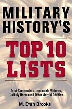 Military History's Top 10 Lists-ExLibrary