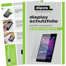 2x Medion Lifetab P7332 MD99103 Schutzfolie Display Folie P 7332 matt dipos