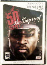 RARE! New 50 Cent Bulletproof Concert DVD- Original PS2 XBOX Limited Game Promo