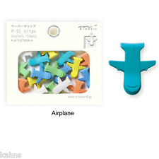 Airplane Midori P-51 Paper Clips - Cute Kawaii Japanese -Made for Japanese Mkt