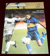 BOCA JUNIORS World Champion 2000 vs REAL MADRID - Conmebol Magazine # 66