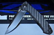 Kershaw Zero Tolerance 0450CF Plain Edge Knife Sinkevich Carbon Fiber hdle USA