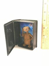 """Plastic E.T. Movie Toy VHS Case Light Up Figure Toy 3 7/8"""" Tall"""