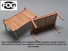 1/35 Scale  Wooden pier / jetty section