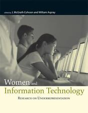 Women and Information Technology: Research on Underrepresentation MIT Press