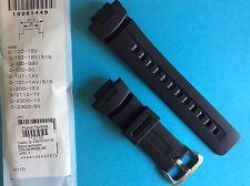 Casio Uhrband schwarz G-100, G-101, G-200, G-2110, G-2300