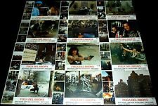 1983 Escape from the Bronx ORIGINAL SPAIN LOBBY CARD SET Post Apocalyptic