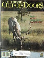 JUNE 1979 MICHIGAN OUT-OF-DOORS- HUGE ELK RACK