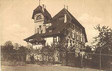 Château Mont-Choisi, Lausanne, Pensionnat Schenker & Roy, Ansichtskarte von 1910