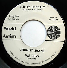 JOHNNY SHANE 45 Flipity Flop Fly / Roseanna PROMO Northern Soul e7020