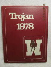 1978 Yearbook Webster County High School Dixon KY Vintage Photos & Signatures