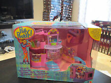 NEW VINTAGE Polly Pocket & The Pops Concert Hall Playset 1999 Bluebird Doll Toy