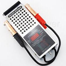 Battery Charging System Digital Tester Load Drop Car Van Auto Voltage 100Amp 12V