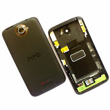 100% Genuine HTC One X rear fascia housing+camera glass back cover+speaker 1 X