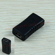 HOT! Micro HDMI Female to Female F/F Connector Coupler Adapter Converter Black