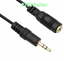 7m 20ft 3.5MM AUDIO STEREO HEADPHONE EXTENSION CABLE Gold plating NEW