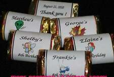 Personalized ~ Birthday ~ Miniatures Mini Candy Bar Wrappers Party Favors