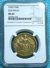 1935-S MS-65 California Pacific Internation San Diego Silver 70,132 Minted #3