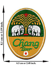Chang Beer Thai Thailand Beverage Food Drink Logo Applique Iron on Patch Sew