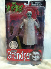 THE MUNSTERS HOT ROD GRANDPA FIGURE TOYS R US EXCLUSIVE DIAMOND SELECT TOYS MOC