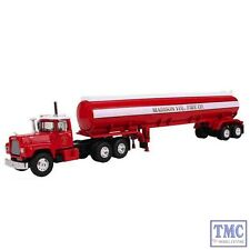 60-0289 First Gear 1:64 SCALE Mack R Model with 42' Water Tank Madison Vol. Fire