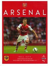 ARSENAL v HULL 2014/15 MINT PROGRAMME