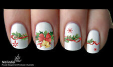 Christmas xmas Decoration Nail Art Sticker Water Transfer Decal Tattoo 38
