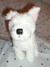 """The Boots Co Puppy Dog White Puppy 7"""" Plush Soft Toy Stuffed Animal"""