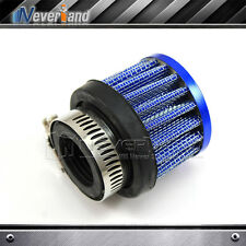 25mm Car Cold Air Intake Filter Turbo Vent Crankcase Breather Blue Racing