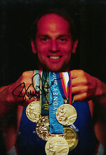 Steve Redgrave Genuine Hand Signed Autograph In Person 12X8 Photo Sydney 2000