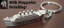 RMS TITANIC Ship Key Ring Chain Fob collectable miniature Boat Stunning Gift LGW