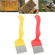 Practical Steel Bee Keeping Honey Comb Beekeeping Tine Uncapping Fork Hive Tools