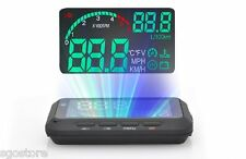 OBD II HUD Car Head Up Display System Speed Instrument Projector Tachometer