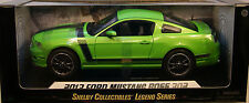 SHELBY 1:18 SCALE DIECAST METAL GOTTA HAVE IT GREEN 2013 FORD MUSTANG BOSS 302