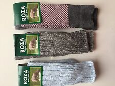 3 PAIRS LADIES WOOL HIGH QUALITY CHUNKY THERMAL SOCKS HIKE BOOT SIZE 4-7 FGR