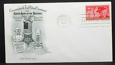 US Artmaster Cachet Cover FDC Indianapolis GAR Stamp 3c USA Ersttagsbrief H-7556