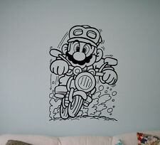 Super Mario Video Game Wall Vinyl Decal Vinyl Sticker Superhero Home Interior 12