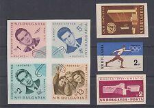 Bulgaria Sc 1041/1393 MLH. 1959-1965 IMPERFS 4 diff
