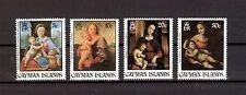 Kayman Inseln Michelnummer 498 - 501 postfrisch (Kunst 598 )