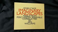 CAGE JOHN - IMAGINARY LANDSCAPES (IAN WILLIAMS). CD DIGIPACK EDITION NUOVO SIG.