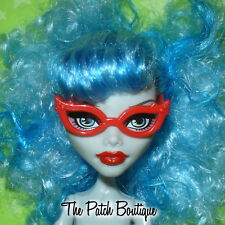 RED CAT EYE GLASSES EYEGLASSES REPLACEMENTS FOR MONSTER HIGH GHOULIA YELPS DOLL