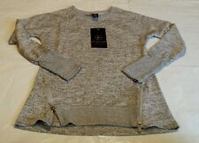 NEW Active Life Women's Long Sleeve Top with Zippers Size Small $58 Retail