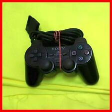 4x ORIGINALE SONY PLAYSTATION 2 DUALSHOCK 2 CONTROLLER NERO (difetto)