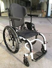 "Ti Lite ZRa? rigid 16"" Aluminum white Manual Wheelchair very good cond no reserv"