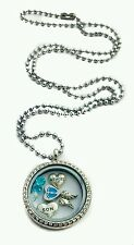 Miscarriage in memory of loss son living memory locket necklace fast shipping